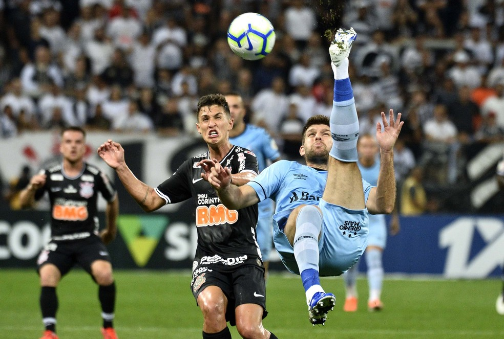 Grêmio ainda não venceu no Brasileirão  — Foto: Marcos Riboli