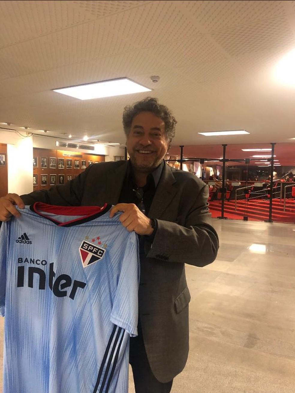 Julio Casares, conselheiro do São Paulo, é apontado como um dos possíveis candidatos a presidente do clube — Foto: Reprodução/Twitter