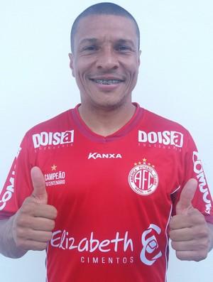 Danilo Baia lateral-direito do América-RN (Foto: Divulgação)