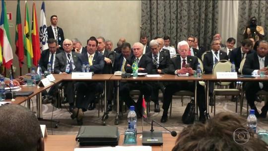 Presidente Michel Temer retorna hoje ao Brasil