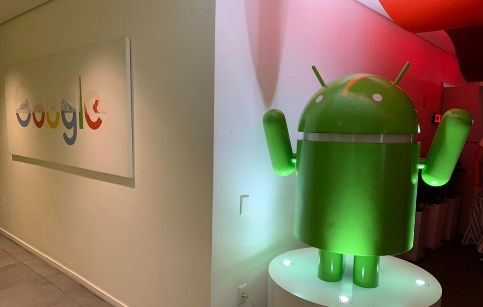 Escritório do Google em São Paulo. — Foto: Thiago Lavado/G1