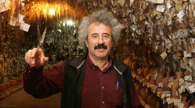 Museu do cabelo foi fundado por artesão turco (Foto: Reprodução)