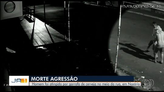 Morre homem que foi agredido com garrafa de vidro em Nazário