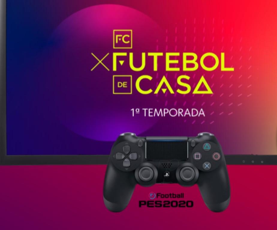 FC: Futebol de Casa reúne craques do Brasileirão em torneio virtual de PES 2020