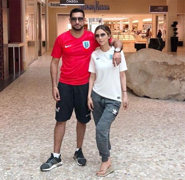 Amir Khan e a esposa Faryal (Foto: Instagram)