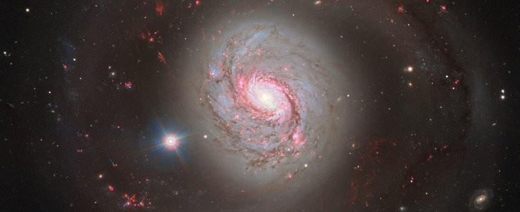 Galáxia Messier 77, que fica na constelação de Centus (Foto: ESO)