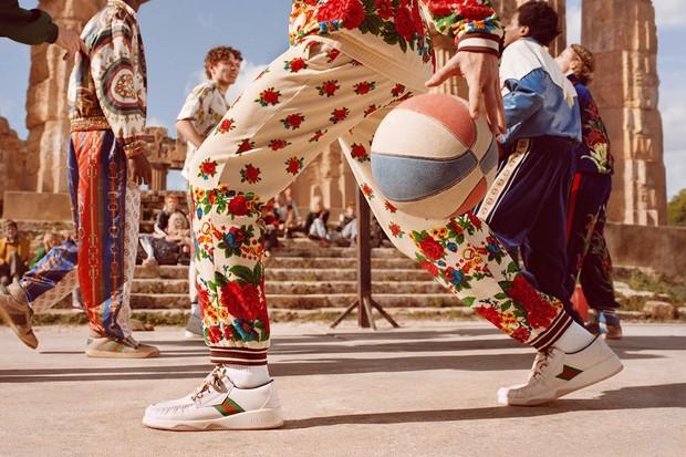 Imagem da campanha de Pre Fall 2019 da Gucci (Foto: Divulgação)
