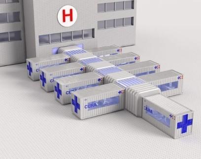 Coronavírus: Projeto transforma contêineres em unidades de tratamento intensivo