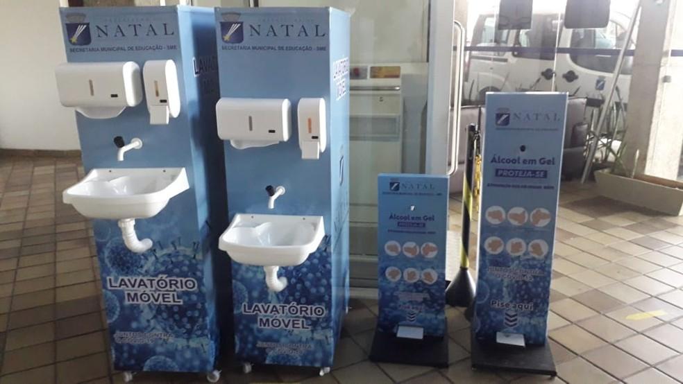 lavatorios Natal prevê retorno gradual das aulas presenciais na rede municipal em 7 de julho