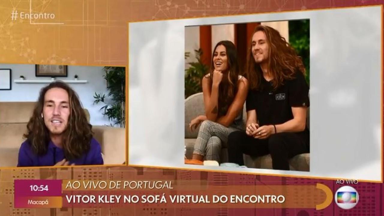 Vitor Kley fala sobre relacionamento e clipe gravado pela namorada