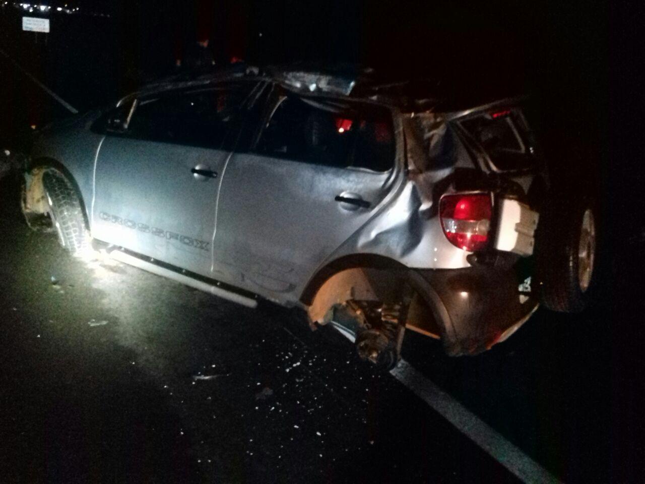 Motorista morre ao capotar veículo na BR-365 no Alto Paranaíba