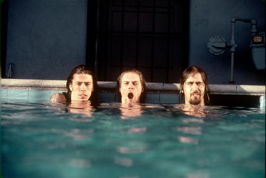 Nirvana em ensaio de fotos de Nevermind — Foto: Kirk Weddle/Modern Rocks Gallery