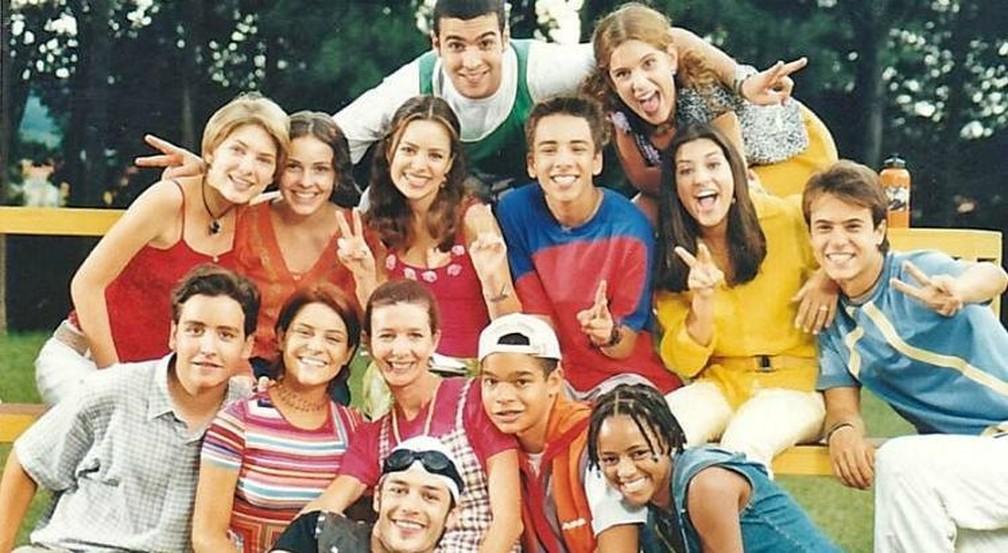 """Série """"Sandy e Junior"""" estreou em 1999 — Foto: Divulgação"""
