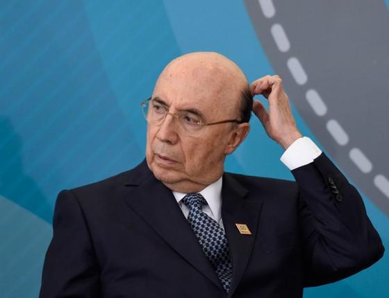 O ministro da Fazenda Henrique Meirelles (Foto:  Mateus Bonomi/AGIF/AFP)