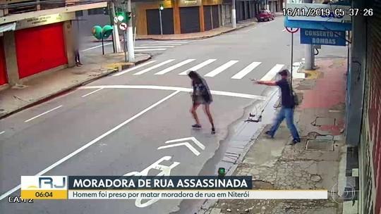 Homem mata moradora de rua a tiros após ela pedir esmola no RJ
