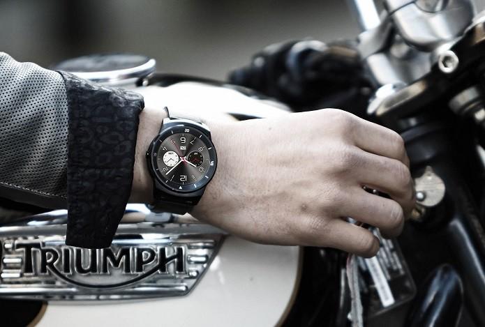 LG G Watch R é o rival direto do Moto 360, da Motorola (Foto: Foto: Divulgação/LG)