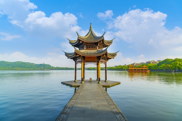 The beautiful scenery of Hangzhou, West Lake (Foto: Getty Images/iStockphoto)