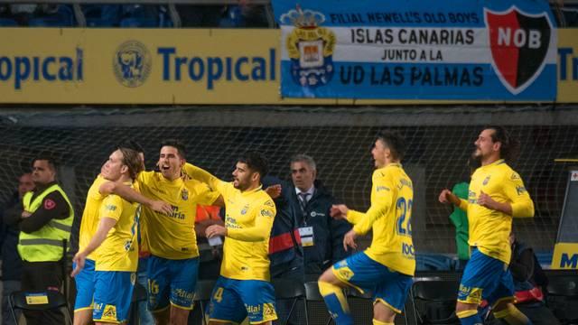 Las Palmas teve boa atuação contra o Barça