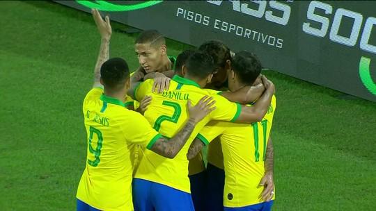 Veja os gols da vitória do Brasil sobre a Coreia do Sul por 3 a 0