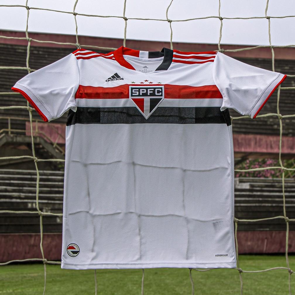 Nova camisa do São Paulo — Foto: Thiago Mancini