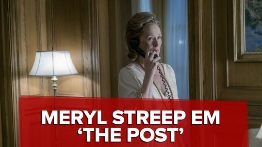 Meryl Streep fez 'transformação extraordinária' para seu papel em 'The Post', diz Steven Spielberg