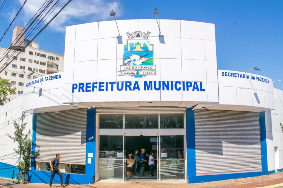 Segundo a prefeitura, as aulas serão suspensas por 15 dias, em Foz do Iguaçu — Foto: Prefeitura de Foz do Iguaçu/Divulgação