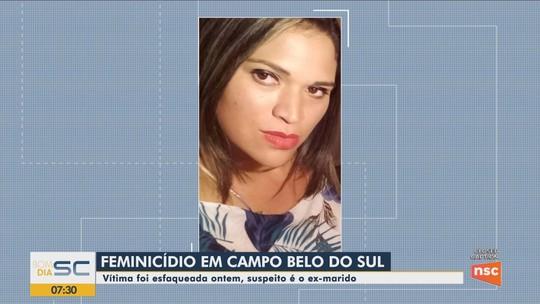 Homem é preso suspeito de matar a ex-companheira a facadas em Campo Belo do Sul
