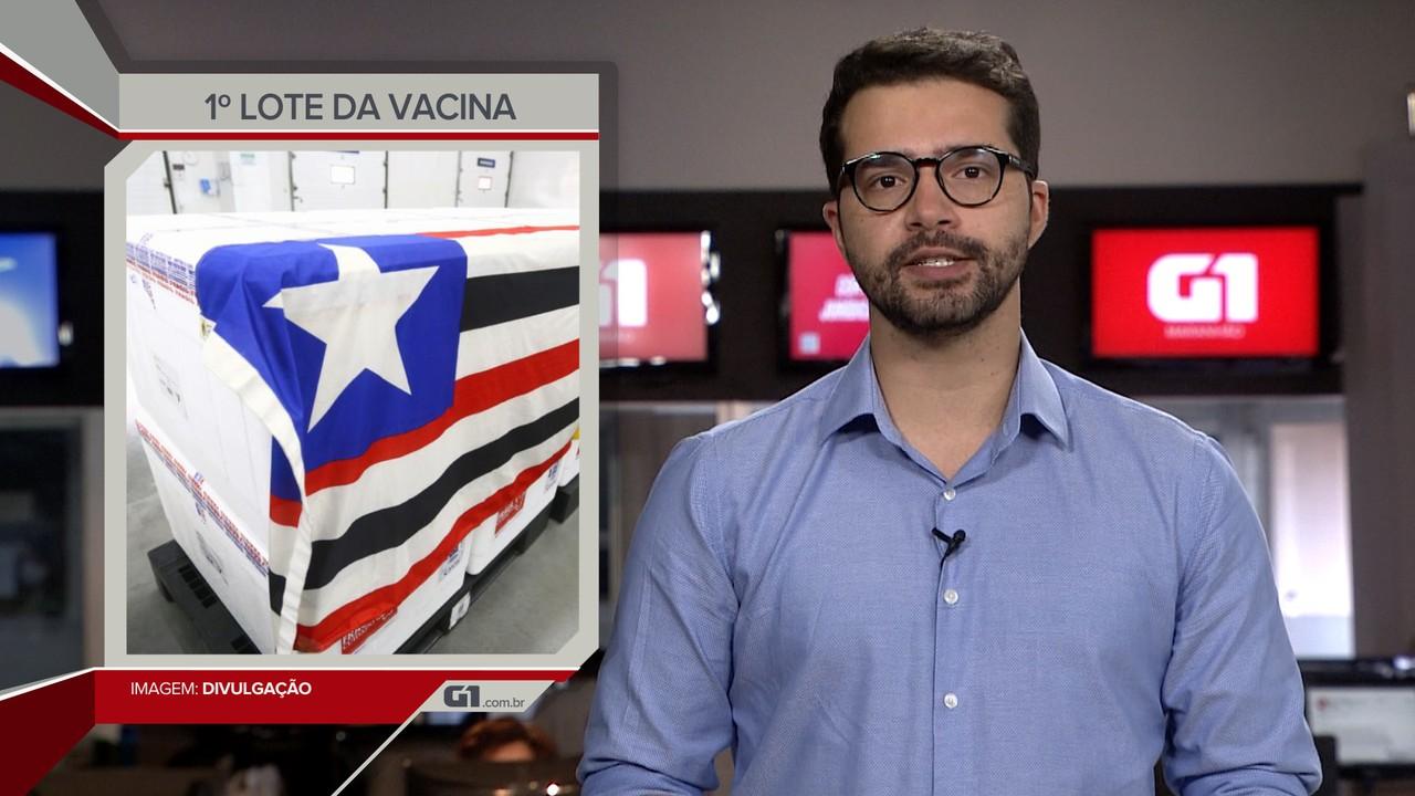 Maranhão deve receber mais de 160 mil doses de vacina