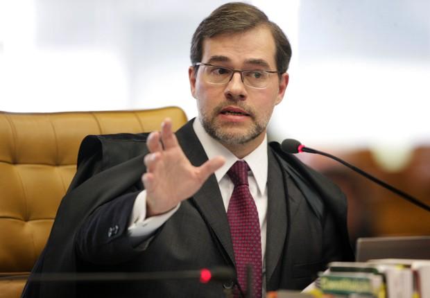 O ministro do Supremo Tribunal Federal (STF), Dias Toffoli, durante sessão (Foto: Fellipe Sampaio /SCO/STF )