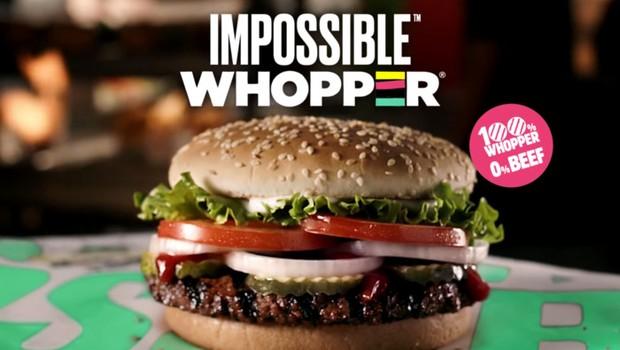 Impossible Whooper do Burger Kinger (Foto: Divulgação)