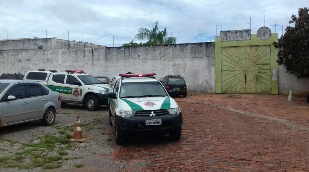 Adolescente foi encontrado morto dentro de uma das celas do Centro Socioeducativo Santa Juliana  (Foto: Arquivo pessoal )