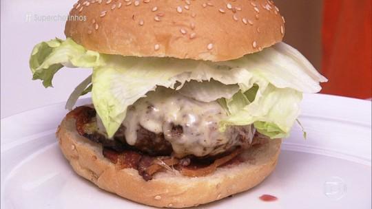 Hambúrguer do Chef Paulo Yoller