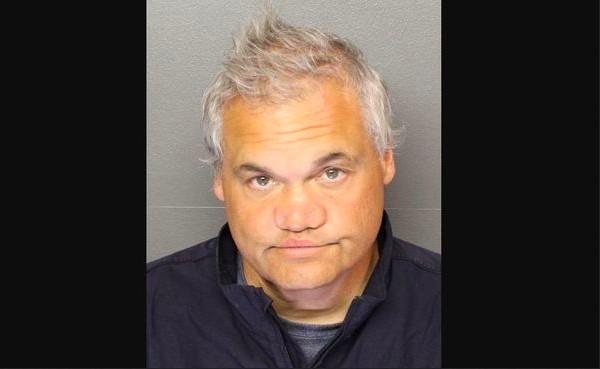 O comediante norte-americano Artie Lange em foto divulgada pelas autoridades dos EUA (Foto: Essex County Sheriff's Office)