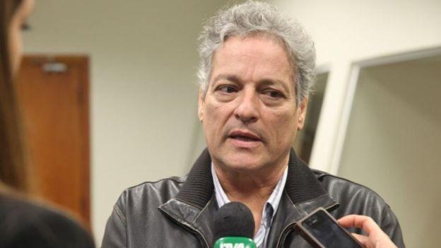 João Vicente Goulart já foi deputado estadual no Rio Grande do Sul nos anos 1980, mas não tem carreira política consolidada. (Foto: AGÊNCIA ALESC via BBC)