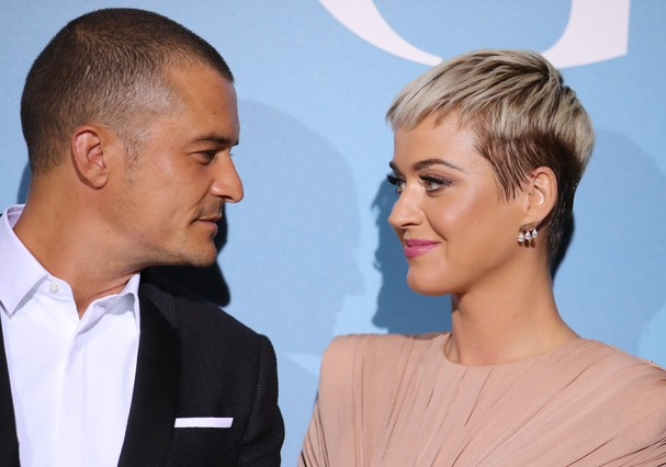 Orlando Bloom e Katy Perry (Foto: Getty Images)