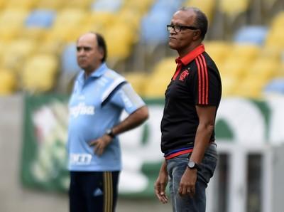 Jayme de Almeida técnico do Flamengo (Foto: André Durão/GloboEsporte.com)