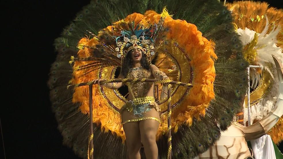 -  Marambaia é a escola campeã do carnaval de São Luís em 2018  Foto: Reprodução/TV Mirante