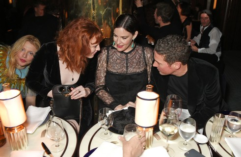 Courtney Love, Karen Elson, Liv Tyler e Dave Gardner