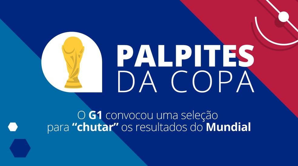 -  Palpites da Copa  Foto: Alexandre Mauro/G1