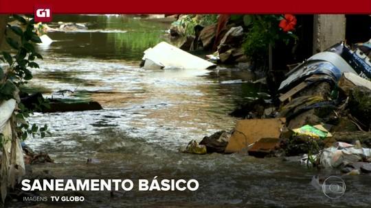 G1 em 1 Minuto: Senado aprova projeto de lei que atualiza marco regulatório do saneamento