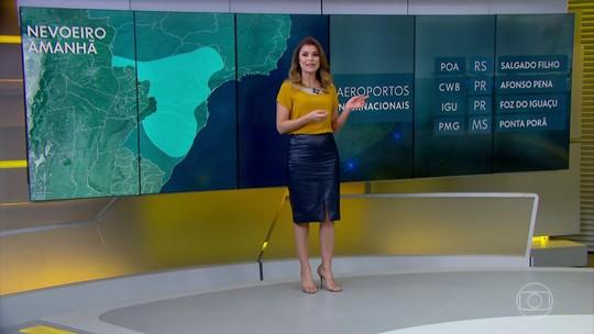Véspera de feriado tem previsão de nevoeiro em grande parte do Centro-Sul do país