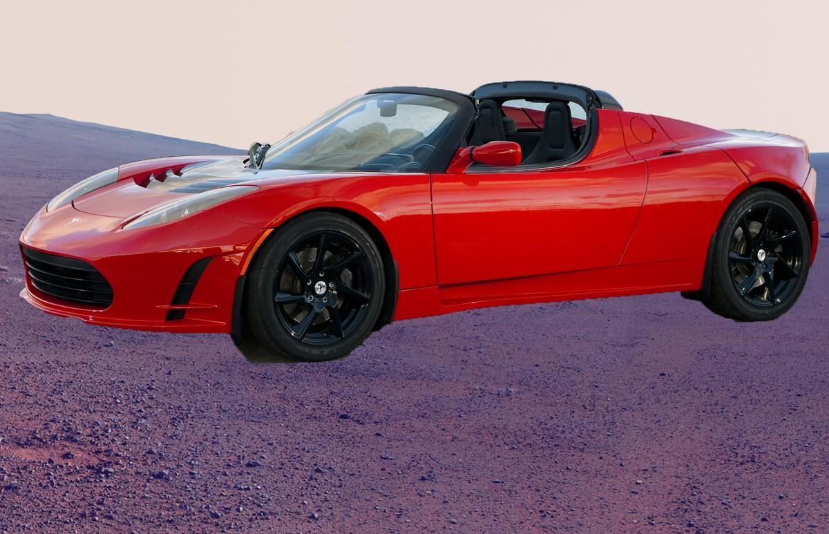 Elon Musk quer enviar seu Tesla Roadster para Marte