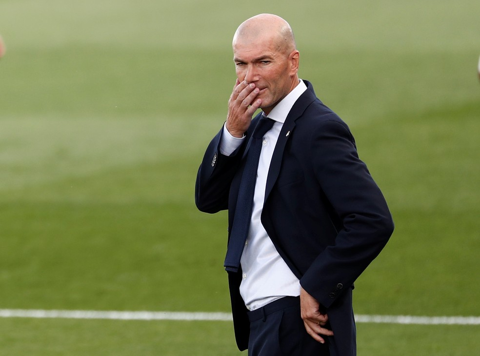 Zidane  — Foto: Reuters
