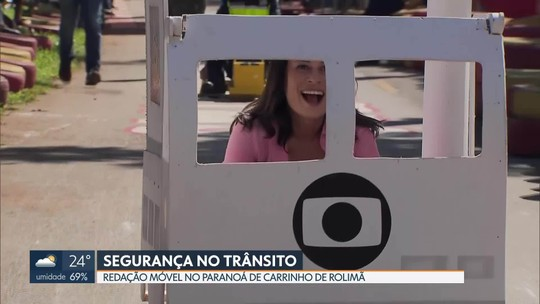 Redação Móvel mostra o 3º Encontro de carrinhos de rolimã no Paranoá