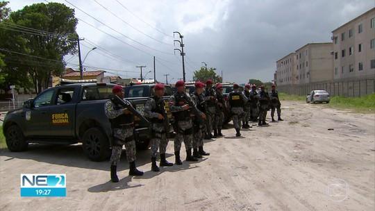 Força Nacional começa o trabalho para intensificar a segurança em Paulista