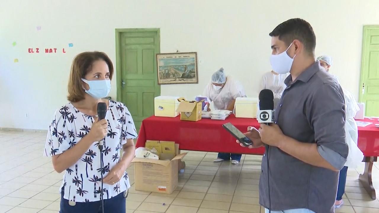 Rio Branco começa a vacinar idosos do Lar Vicentino