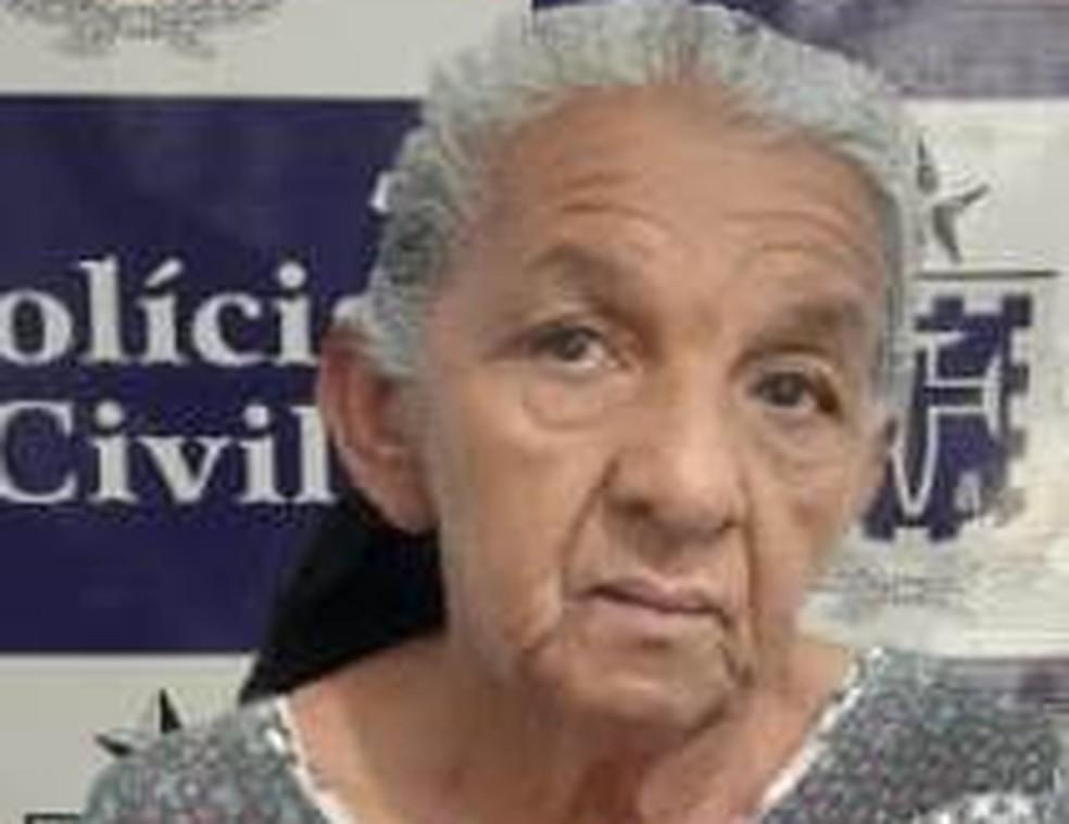 Mulher de 59 anos é presa com documentos falsos ao tentar fraudar benefício do INSS na Bahia  — Foto: Divulgação/Polícia Civil