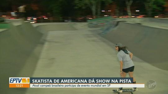 Skatista de Americana se destaca em evento mundial