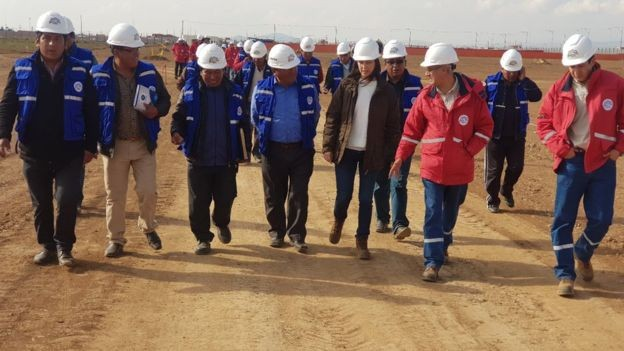 A construção do complexo está sendo feita com apoio russo (Foto: abi/bbc)
