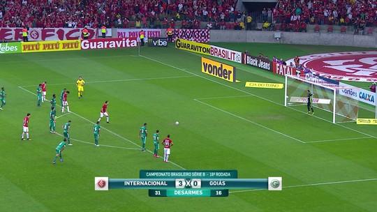 """Batista vê o Inter melhor com Damião: """"Assumiu a responsabilidade"""""""